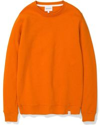 Norse Projects - Vagn Classic Crew Oxide Orange - Lyst