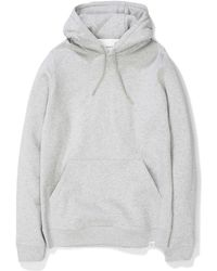 Norse Projects - Vagn Classic Hood Light Grey Melange - Lyst