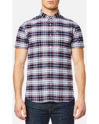 Superdry - Ultimate University Short Sleeve Oxford Shirt - Lyst