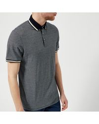 Ted Baker - Poodal Stripe Detail Polo Shirt - Lyst
