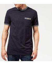 a6ca2b11d277bb Ted Baker - Glaad Pique Mini Spot T-shirt - Lyst