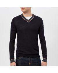 Ted Baker - Coookie V-neck Knitted Jumper - Lyst