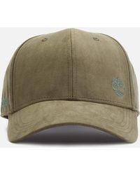c5643d2aa2b644 Timberland - Micro Suede Baseball Cap - Lyst