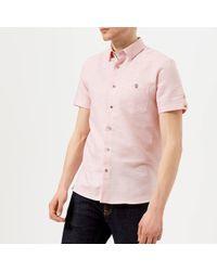 Ted Baker - Peeze Short Sleeve Shirt - Lyst