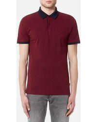 CALVIN KLEIN 205W39NYC - Jasto Pique Polo Shirt - Lyst