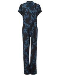 SELECTED - Women's Macy Short Sleeve Jumpsuit - Lyst