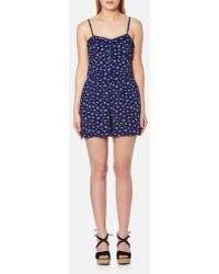 Superdry - Flippy Shore Playsuit - Lyst