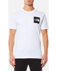 The North Face - Fine Short Sleeve T-shirt - Lyst