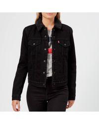 Levi's - Women's Original Sherpa Trucker Jacket - Lyst