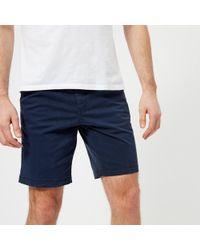 Michael Kors - Garment Dyed Chino Shorts - Lyst