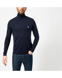 Pretty Green - Hinchcliffe Roll Neck Jumper - Lyst