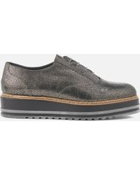 Dune - Follow Leather Oxford Shoes - Lyst