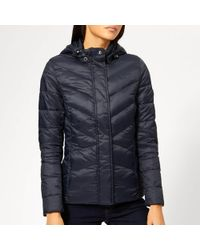 Barbour - Seaward Quilted Coat - Lyst