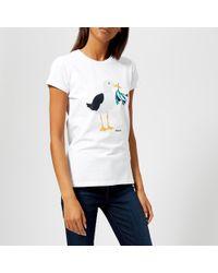 Barbour - Sandsend T-shirt - Lyst