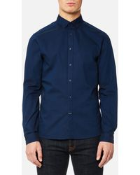 CALVIN KLEIN 205W39NYC - Gallen Washed Oxford Shirt - Lyst