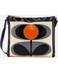 Orla Kiely - Tarpaulin Flower Stem Print Cross Body Bag - Lyst