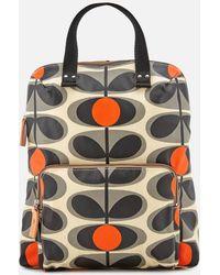 Orla Kiely - Canvas Flower Stem Print Backpack Tote Bag - Lyst
