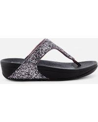 Fitflop - Glitterball Toe Post Sandals - Lyst