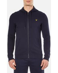 Lyle & Scott - Zip Through Hoody - Lyst