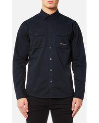 Marshall Artist - Dual Pocket Military Shirt - Lyst