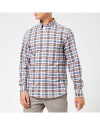 Tommy Hilfiger - Multi Check Long Sleeve Shirt - Lyst