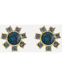 Ted Baker Cesha Daisy Clockwork Stud Earrings - Multicolour