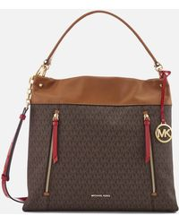 MICHAEL Michael Kors - Lex Large Hobo Bag - Lyst