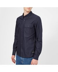Calvin Klein - Button Down Classic Slim Shirt - Lyst