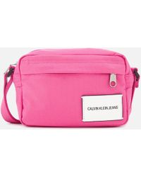 Calvin Klein - Sport Essential Camera Cross Body Bag - Lyst