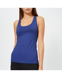 Asics - Fitted Tank Top - Lyst