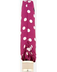 Radley Vintage Dog Dot Mini Telescopic Umbrella
