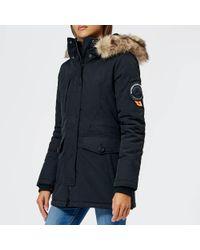 Superdry - Ashley Everest Coat - Lyst