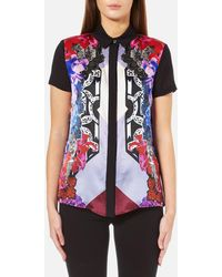 Versace Jeans | Printed Shirt | Lyst
