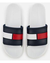 Tommy Hilfiger - Splash Slide Sandals - Lyst