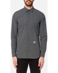 DIESEL - Dunes Printed Long Sleeve Shirt - Lyst
