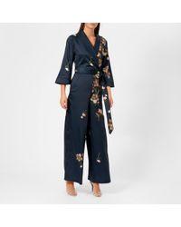 Ted Baker - Kensidy Arboretum Pyjama Jumpsuit - Lyst