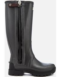 HUNTER - Balmoral Tech Zip 3mm Neoprene Wellies - Lyst