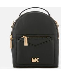 8d38dcecd952 MICHAEL Michael Kors - Jessa Extra Small Convertible Backpack - Lyst