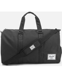0747db98a556 Lyst - Herschel Supply Co. Novel Duffle Bag Black in Black for Men ...