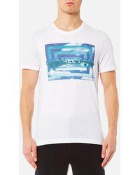 Michael Kors - Vortex M2 Graphic T-shirt - Lyst