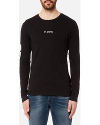 DIESEL - Joe Long Sleeve T-shirt - Lyst