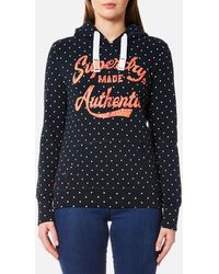 Superdry - Made Authentic Hoody - Lyst