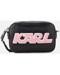 Karl Lagerfeld - Women's K/sporty Camera Bag - Lyst