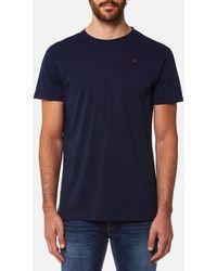 Hackett - Short Sleeve Logo T-shirt - Lyst