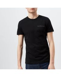 Ck Jeans - Chest Logo Slim T-shirt - Lyst