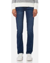 Barbour - Essential Slim Jeans - Lyst