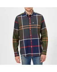 Barbour - Dunoon Long Sleeve Shirt - Lyst