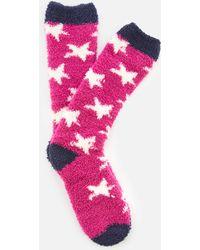 Joules - Fabulously Fluffy Socks - Lyst