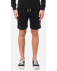 DIESEL - Pan Sweat Shorts - Lyst