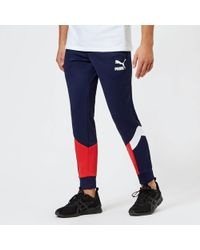 d7f779d3cee6 Puma T7 Vintage Track Pants in Blue for Men - Lyst